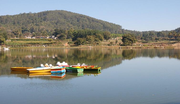 Boating on Punganur Lake Yelagiri