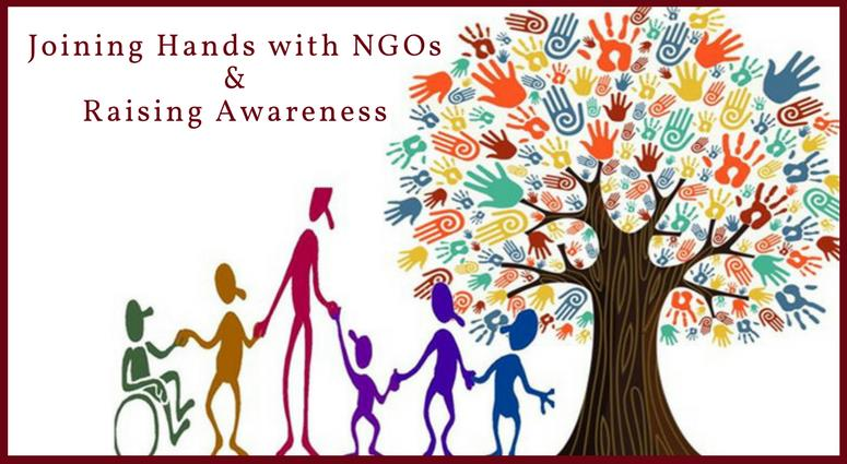 Joining Hands with NGOs & Raising Awareness