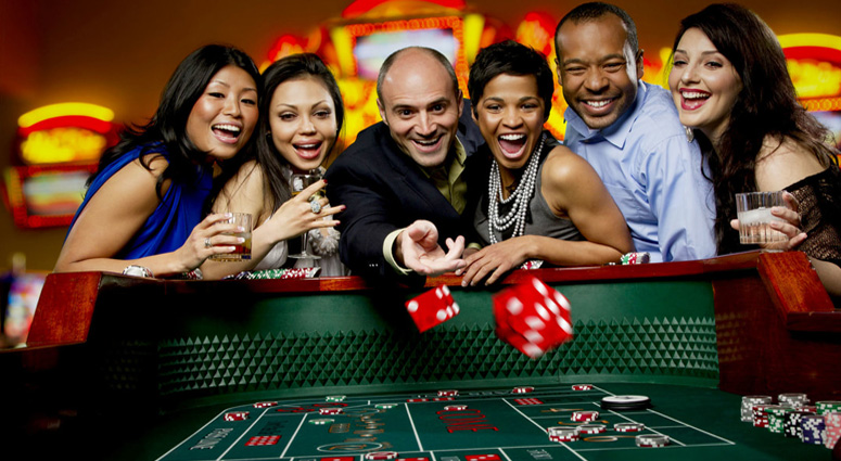 Recreation in Casino of Hong Kong