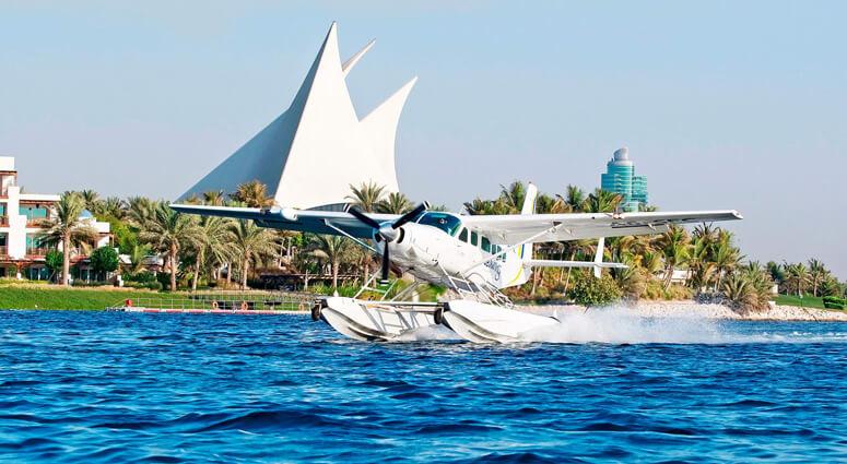 Seaplane Flight from Abu Dhabi