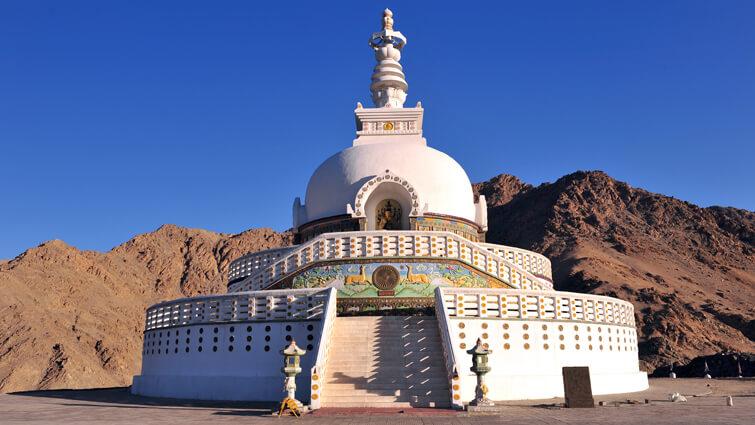 Shanti Stupa Ladakh`