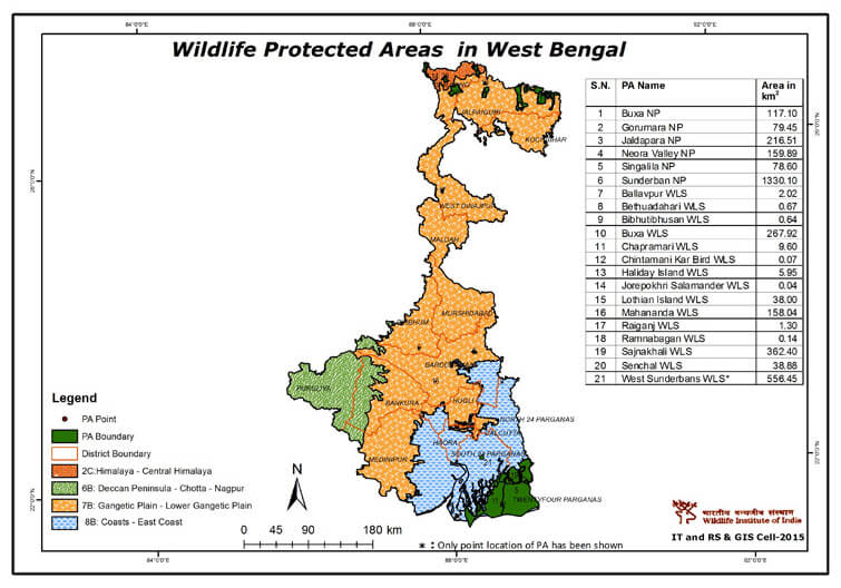 Wildlife-Protected-Area-in-West-Bengal