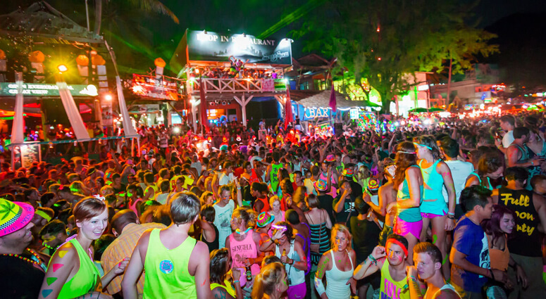Koh Samui Full Moon Parties