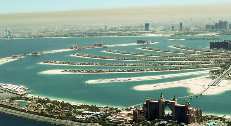Palm Jumeirah Beach Dubai