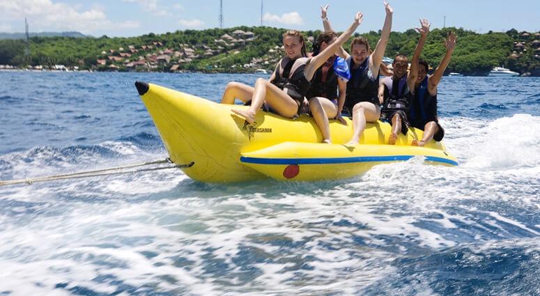 Water Sports Activities at Nusa Lembongan