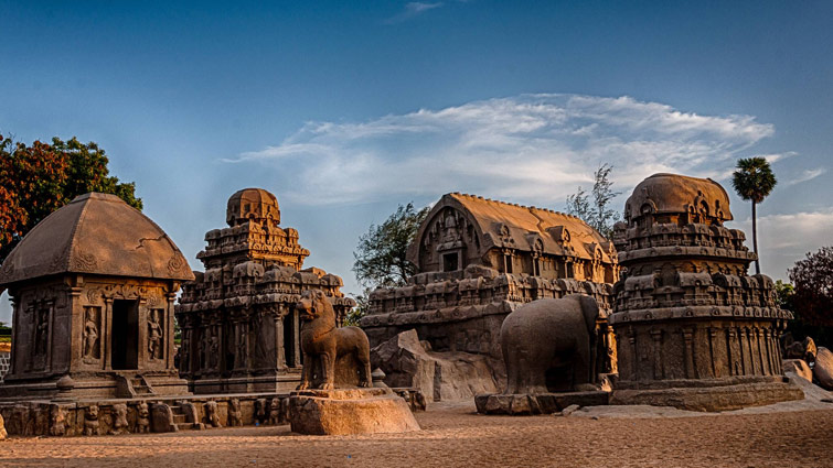 Group of Monuments at Mahabalipuram, India