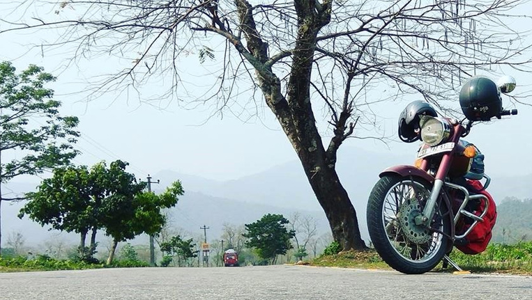 Bike trip in Darjeeling