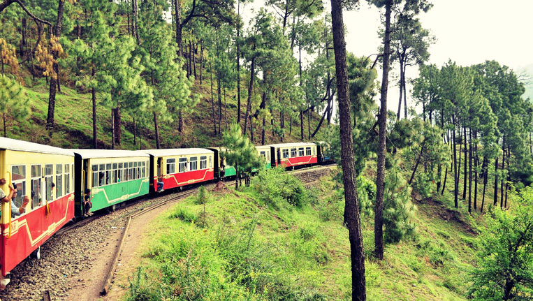 Kasuli Toy Train Ride