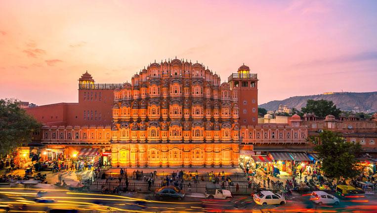 Jaipur - Hawa Mahal at Best