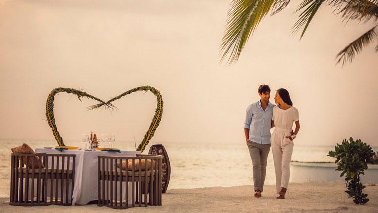 Romantic Holiday in Maldives