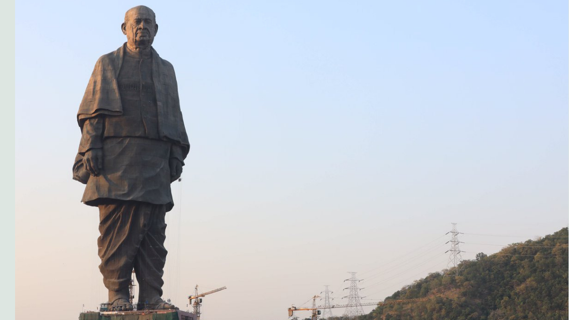 Experience and Embrace The Teaching of Man of Steel Sardar Patel at World's Tallest Statue, Statue of Unity