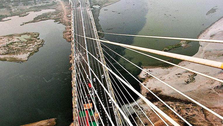 View from Top of Signature Bridge