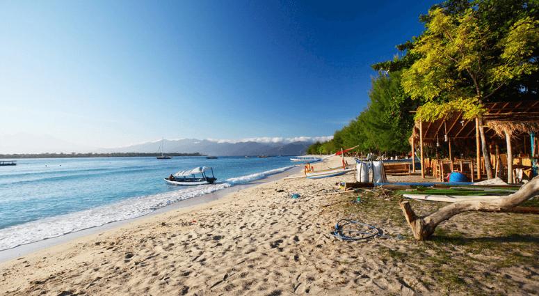 Beach Holiday in Gili Island