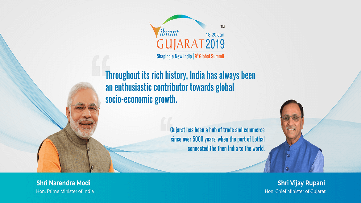 All That You Need to Know About the 9th Vibrant Gujarat Global Summit 2019