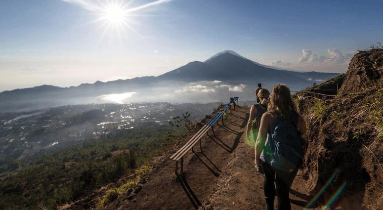 Trek to Mount Agung