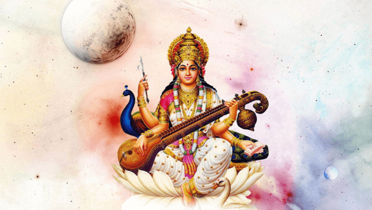 Goddess Worshipped on Basant Panchami