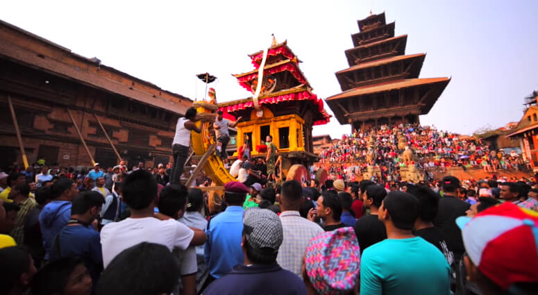 Bisket Jatra Festival Nepal