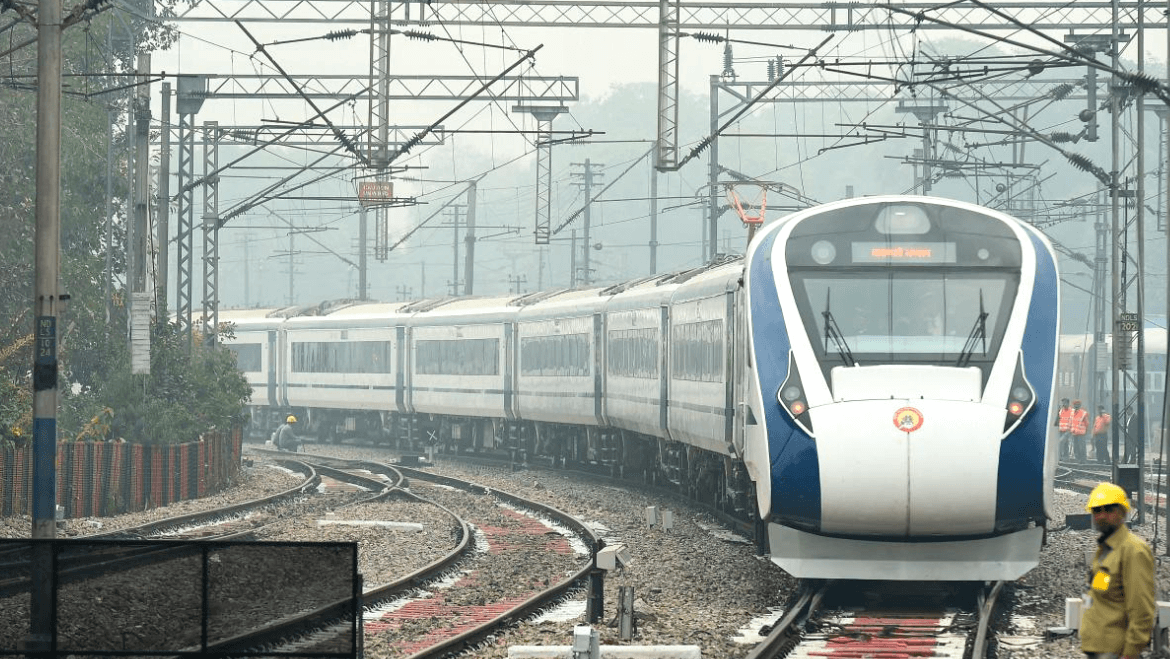 Setting The Stage for Bullet Trains: India Flags Off High Speed Vande Bharat Express