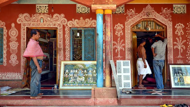 Raghurajpur Heritage Village, Odisha (2)
