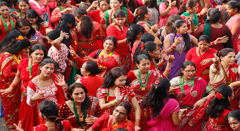 Teej Festival in Nepal