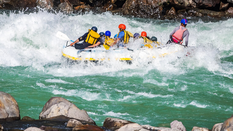 White Water River Rafting, Rishikesh
