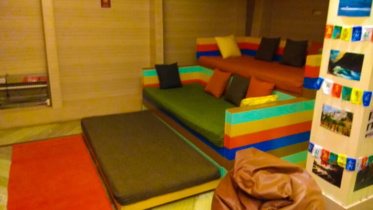 Zostel- A comfortable stay