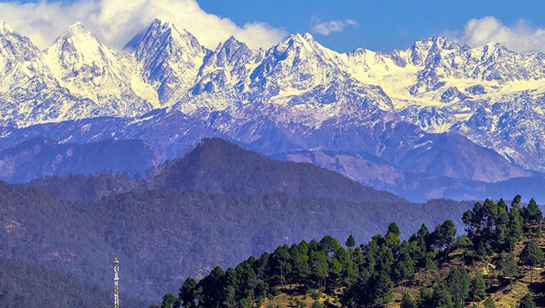 Kausani Himalaya
