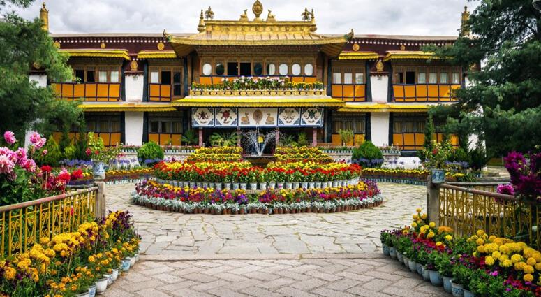 Norbulingka Lhasa, Tibet