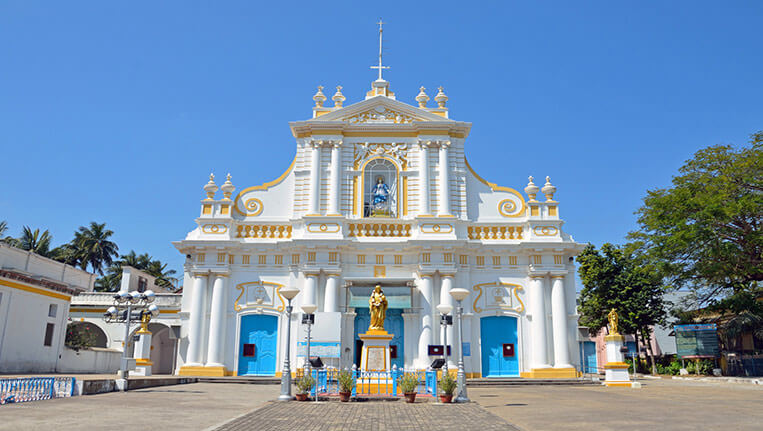 Our Lady of Immaculate Conception Cathedral in Puducherry