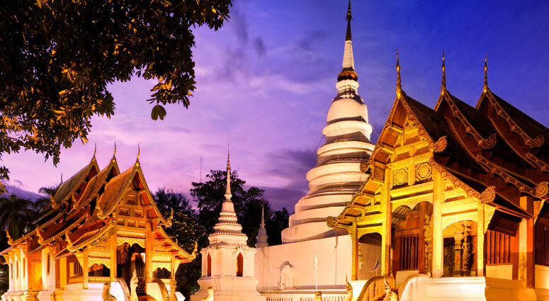 Phra Singh Temple in Chiang Mai