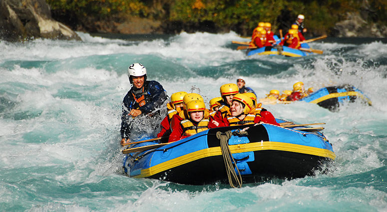 River Rafting, New Zealand