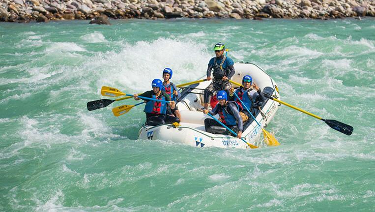 River Rafting in Alaknanda River