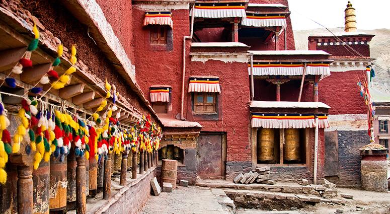 Sakya Monastery Shigatse, Tibet