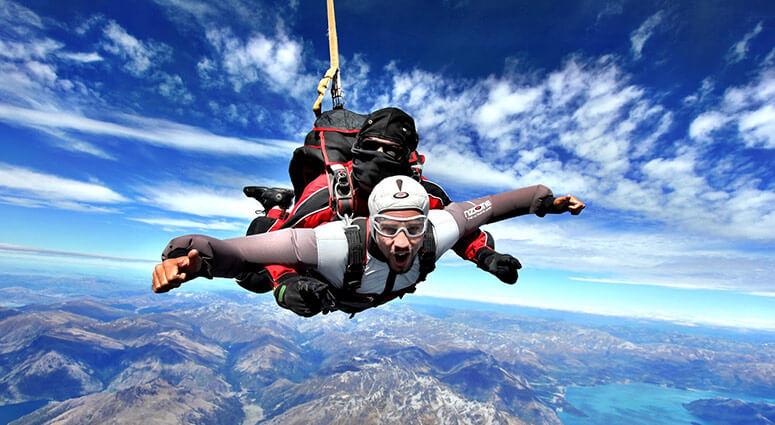 Sky Diving, New Zealand