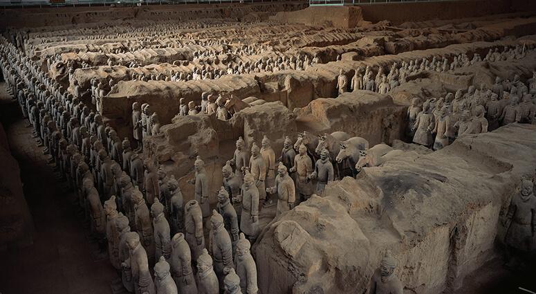 Tomb of the Qin Shi Huang, China