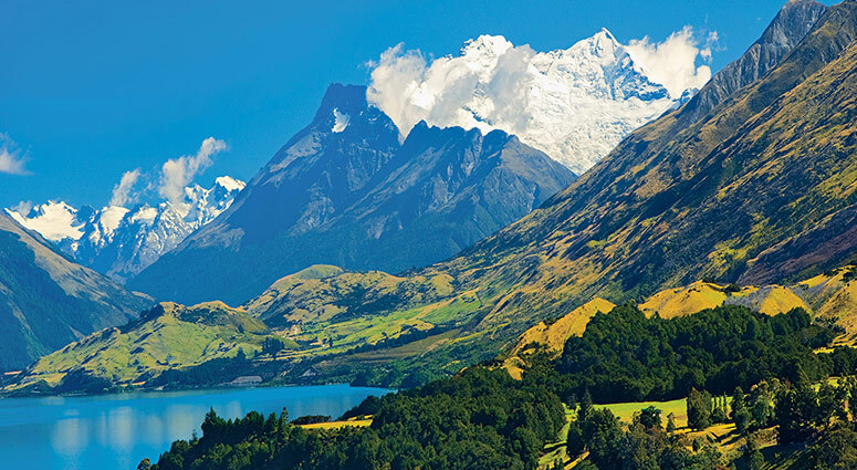 trekking trails, new zealand