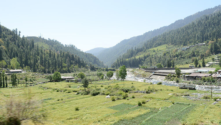 Barot Himachal Greenery in Barot Valley