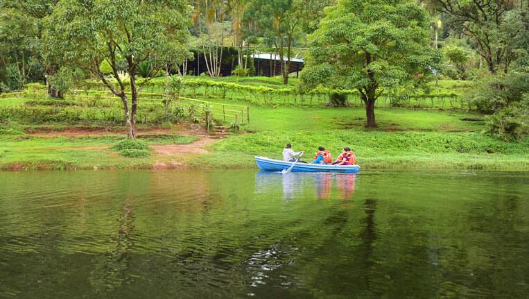 Gavi Lake PATHANAMTHITTA KERALA
