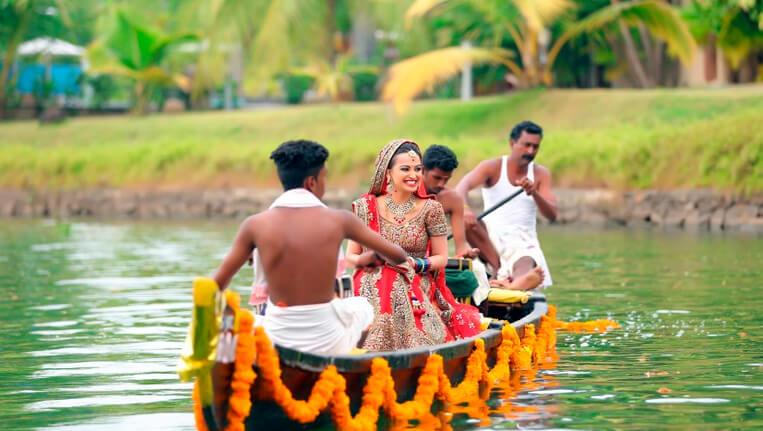 Love Amidst the Scenic Backdrop of Kumarakom Kerala
