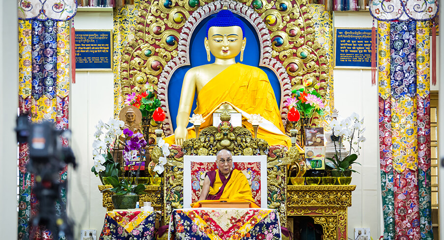 His Holiness the Dalai Lama's Educating Schedule 2019/20 in