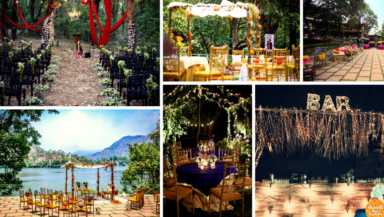 Perfect Wedding Amidst Nature in Naukuchiatal Uttarakhand