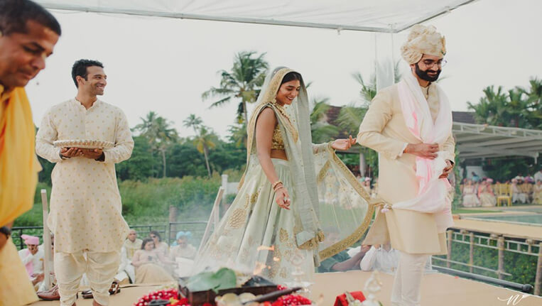 Wedding in the Exotic Backwaters of Alleppey