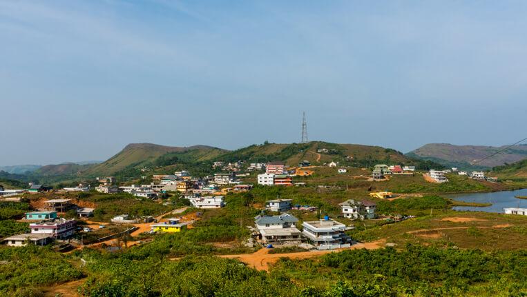 vagamon view of vagamon Town