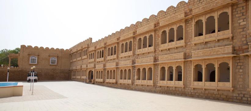 Hotel Himmatgarh Palace Jaisalmer Book At Best Price