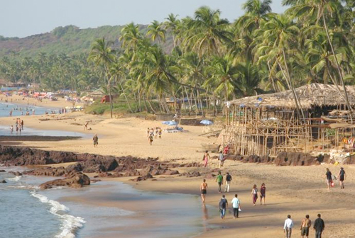 Image result for Anjuna shoreline, Goa