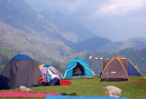 Camping Spots in Himachal
