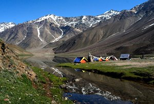 Camping Places in Himachal