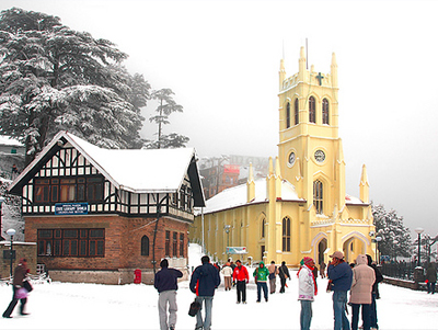 Image result for Christ church, Shimla