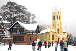 Church in Himachal