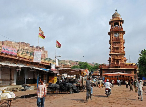 Clock Tower & Sadar Market, Jodhpur